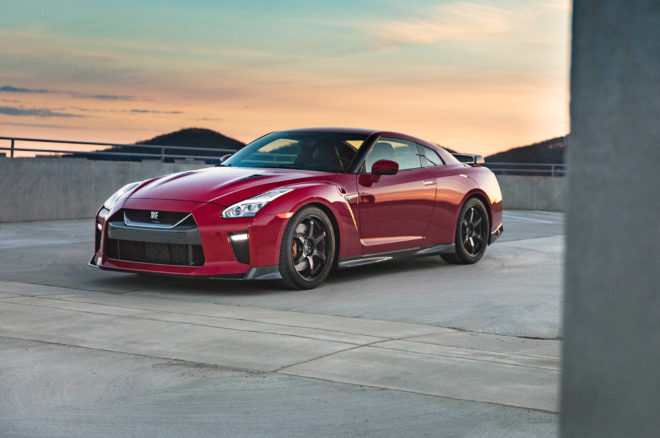 2017 Nissan GT R Track Edition front three quarter 05