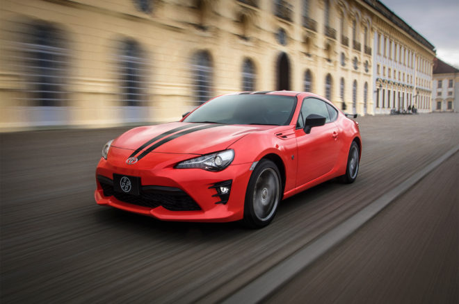 Toyota 86 is coming as the 860 Special Edition to the US