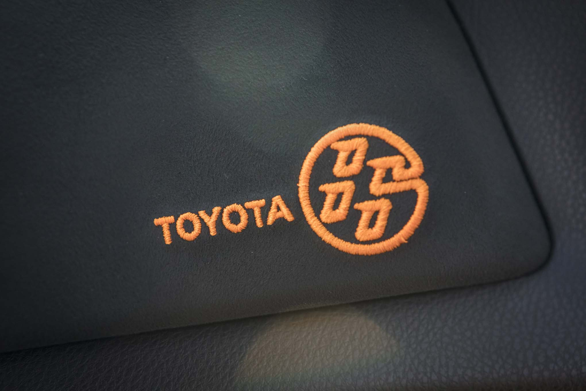 2017 Toyota 86 860 Special Edition stitching