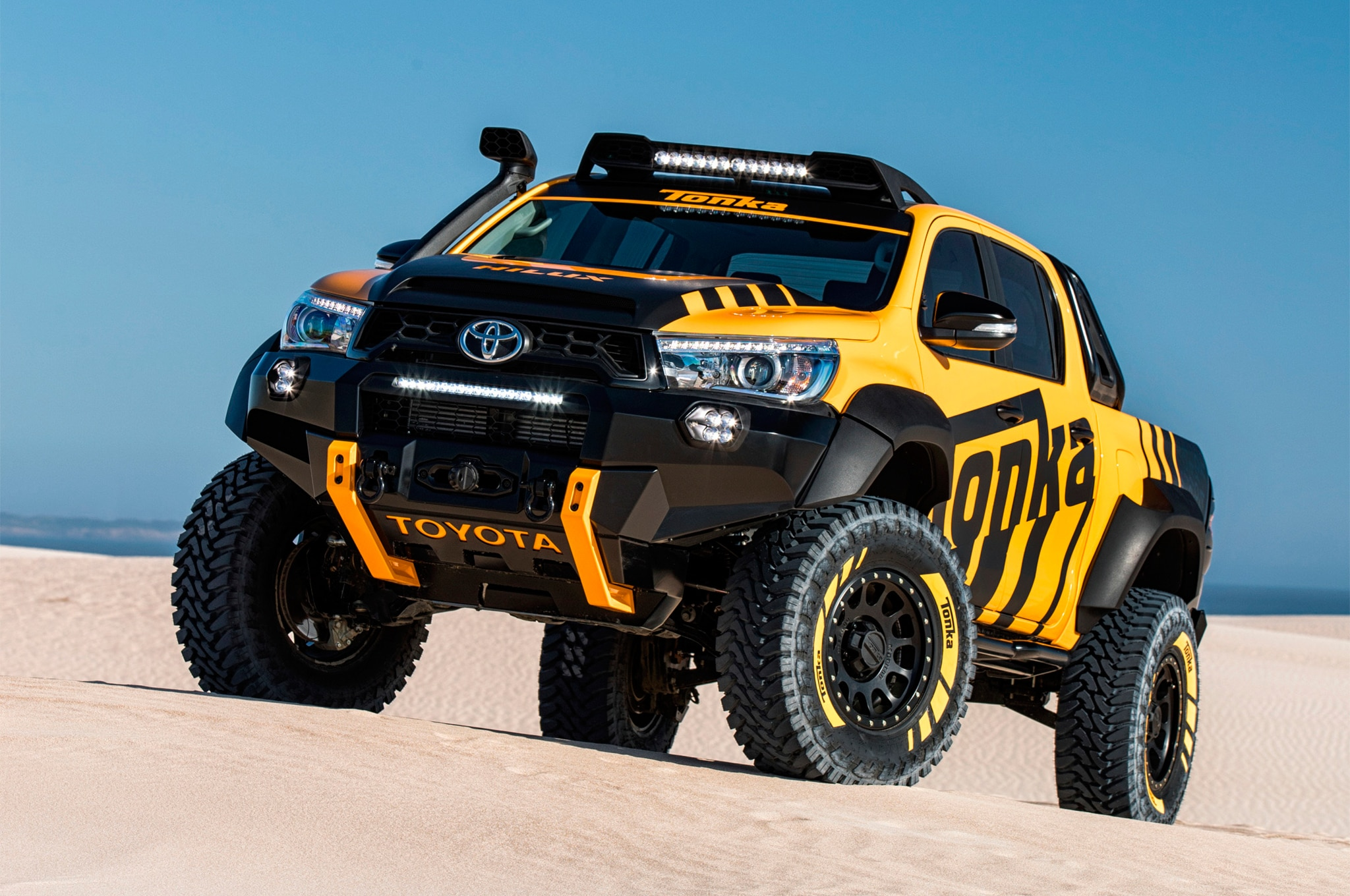 Toyota Hilux Tonka Concept Ready To Play In Life Size
