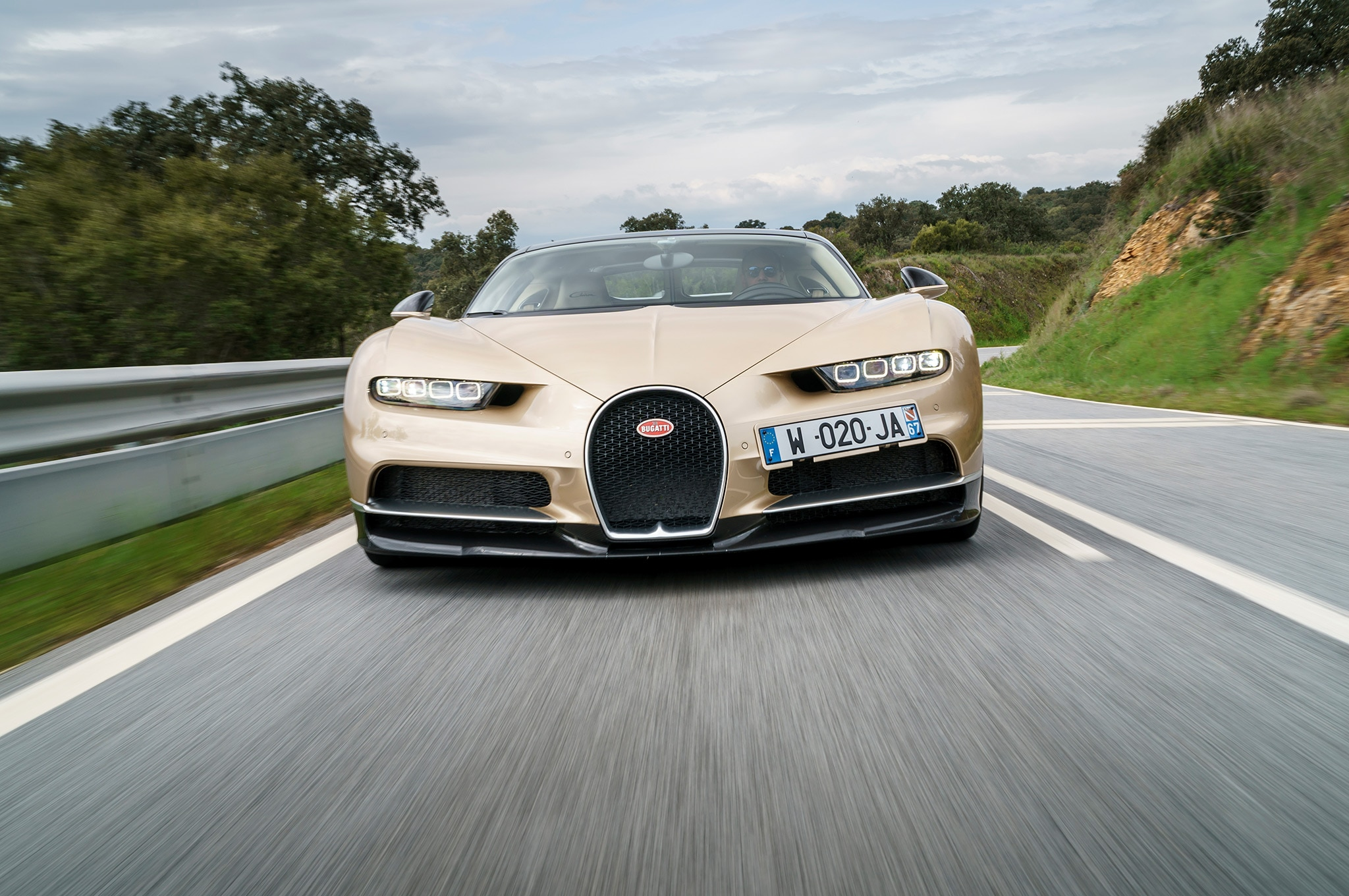 2018 Bugatti Chiron Gold 106 1