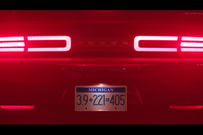 2018 Dodge Challenger SRT Demon taillights