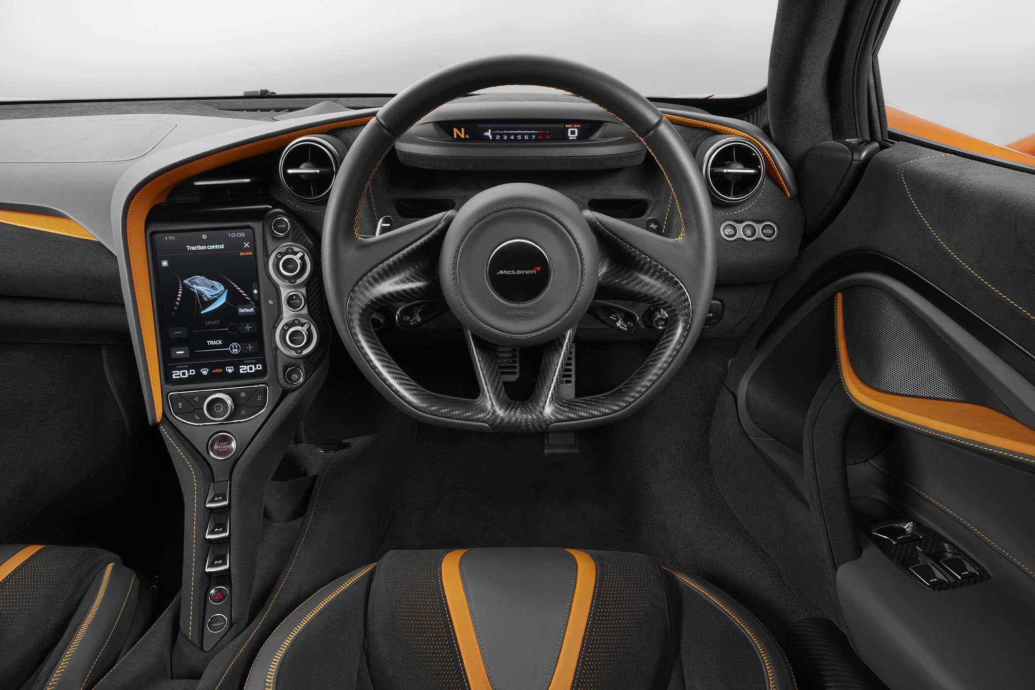 2018 McLaren 720S Interior POV Screen Down
