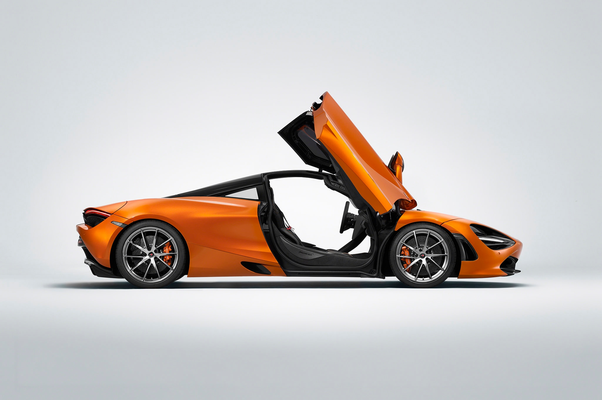 2018 McLaren 720S Profile Doors Up