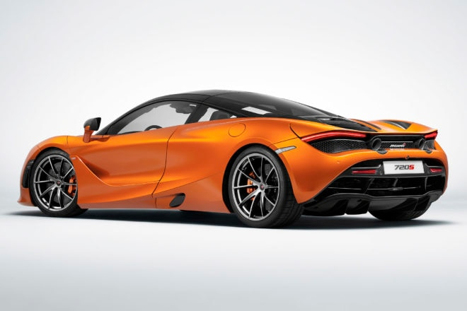 2018 McLaren 720S Rear Three Quarter