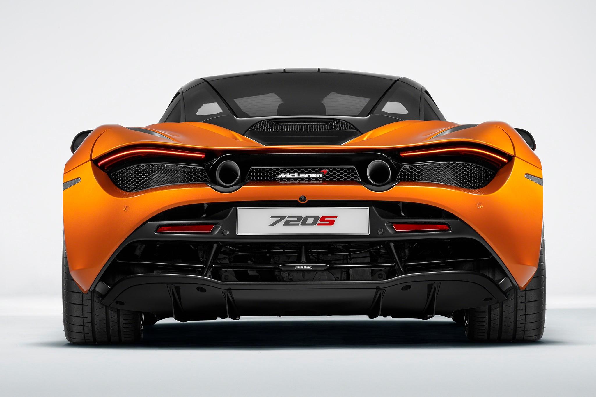 2018 McLaren 720S Rear
