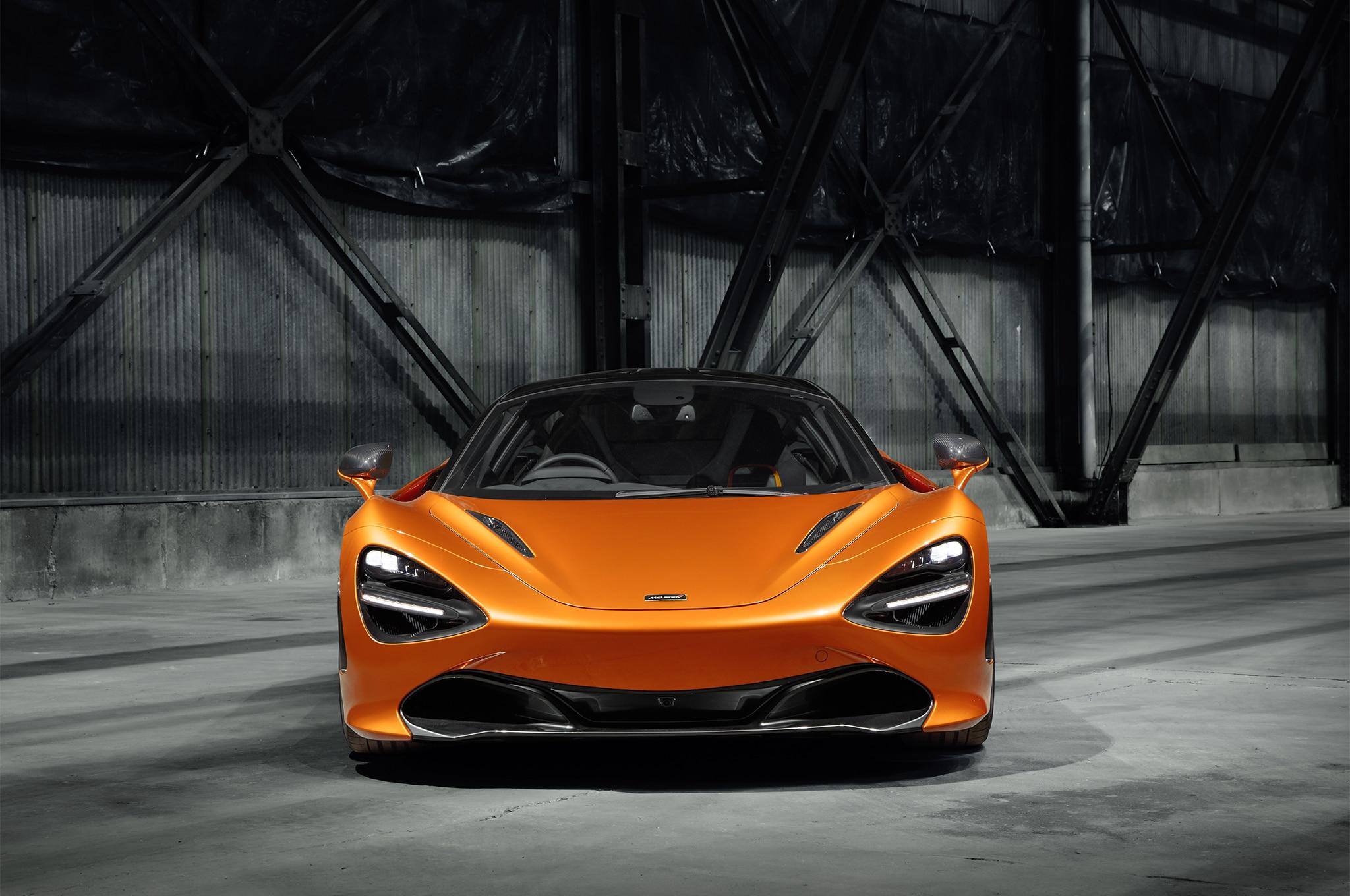 2018 McLaren 720S Front End 1