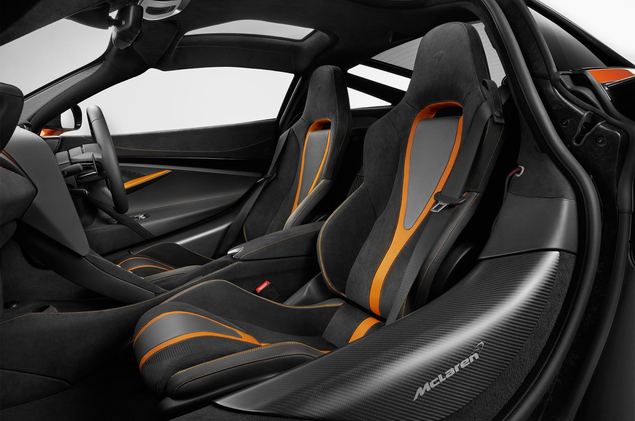 2018 McLaren 720S Front Interior