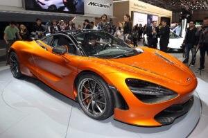 2018 McLaren 720S front side