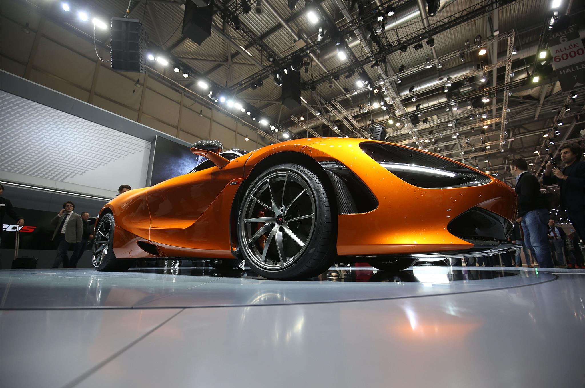 2018 McLaren 720S Front Wheels