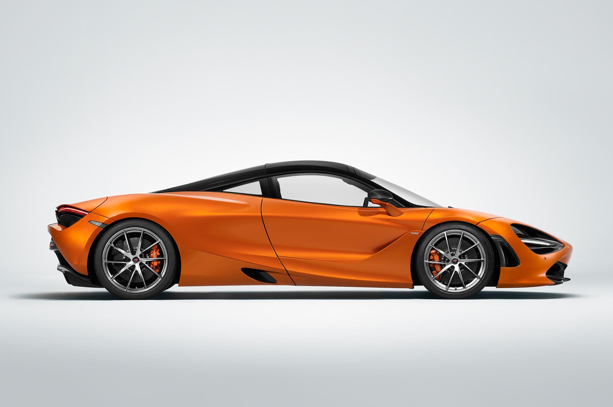 2018 McLaren 720S Side Profile