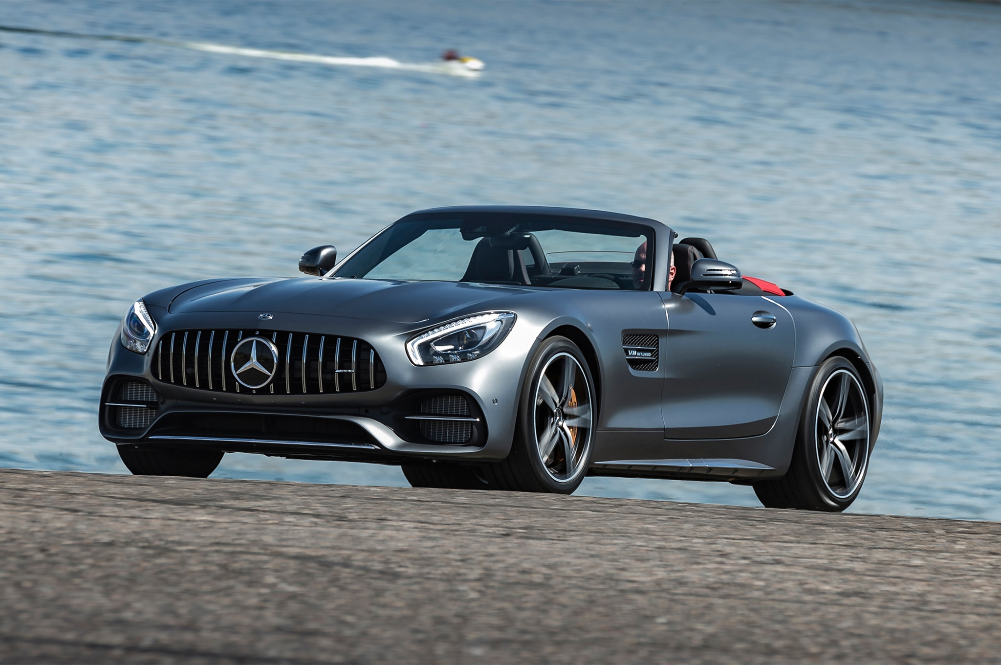 2018 mercedes amg gt and gt c roadster first drive review