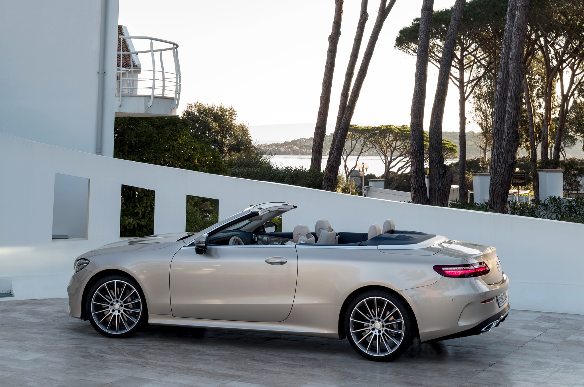 first look 2018 mercedes benz e class cabriolet