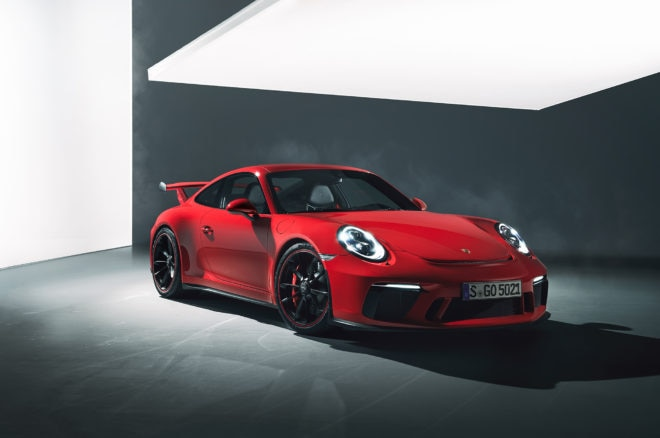 A matter of choice - the new 2018 Porsche 911 GT3