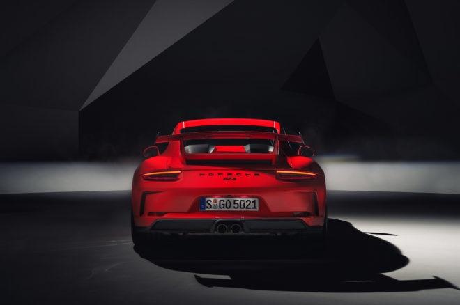 2018 Porsche 911 GT3 Rear
