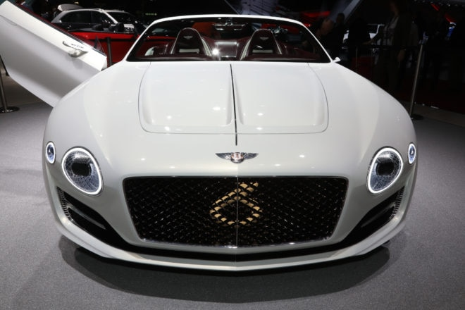 Bentley EXP12 Speed 6E front end