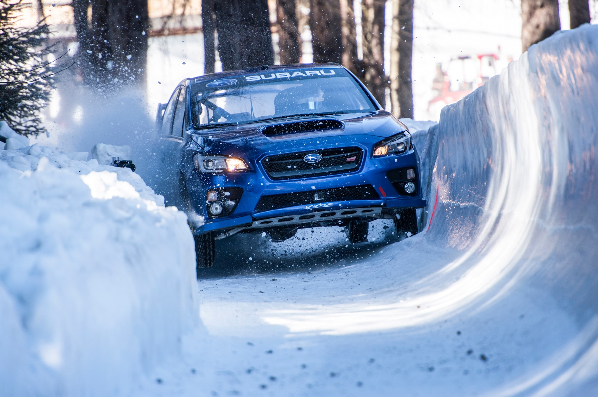 Bobsled Run In A Subaru WRX STI 15