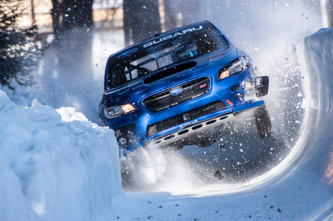 Bobsled Run in a Subaru WRX STI 18