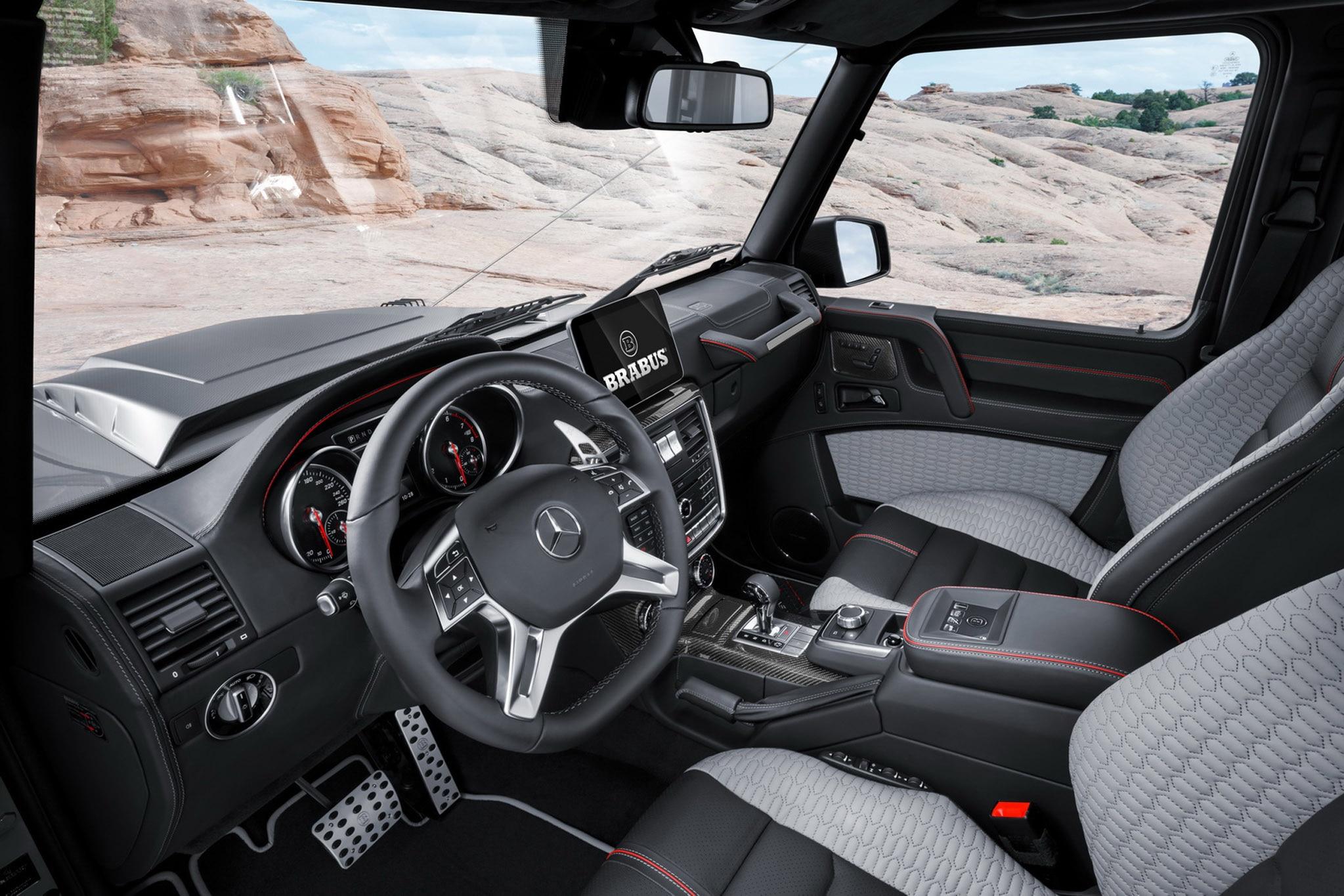 Brabus Turns Mercedes Benz G500 4x4 178 Into Adventure
