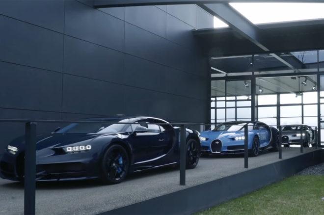 First Bugatti Chiron customer cars delivered