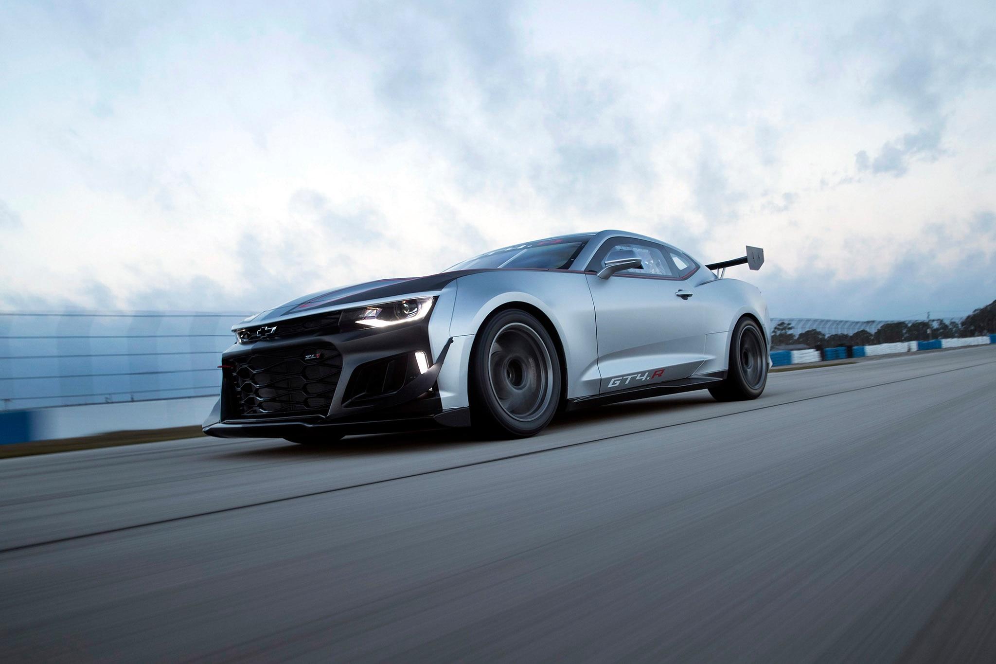 Camaro Gt4r >> Chevrolet Debuts Wicked Camaro GT4.R | Automobile Magazine