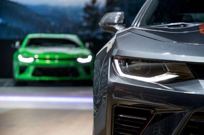 Chevrolet Camaro Track Concept Teaser