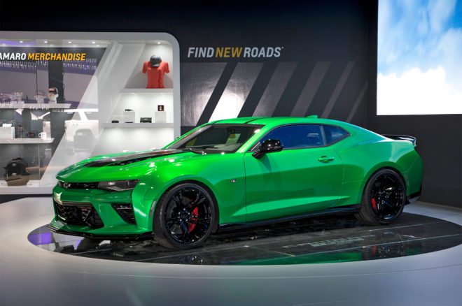 Chevrolet Camaro Track Concept Front Side 1 660x438