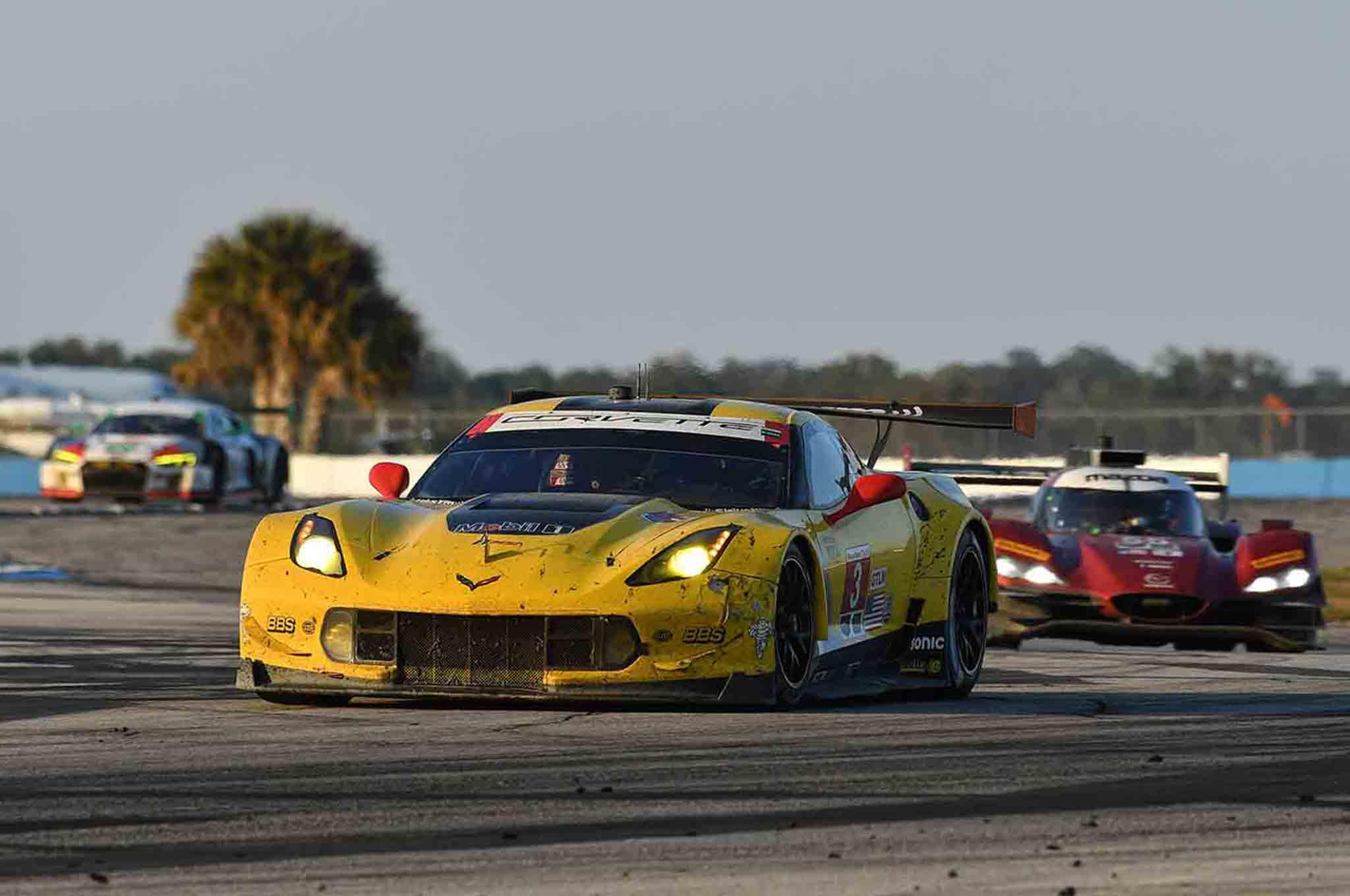 Corvette Front Three Quarter In Motion 02