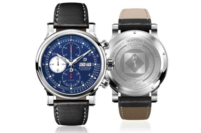Detroit Watch Company M1 Woodward Chronograph
