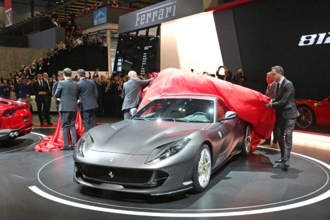 Ferrari 812 Superfast Geneva