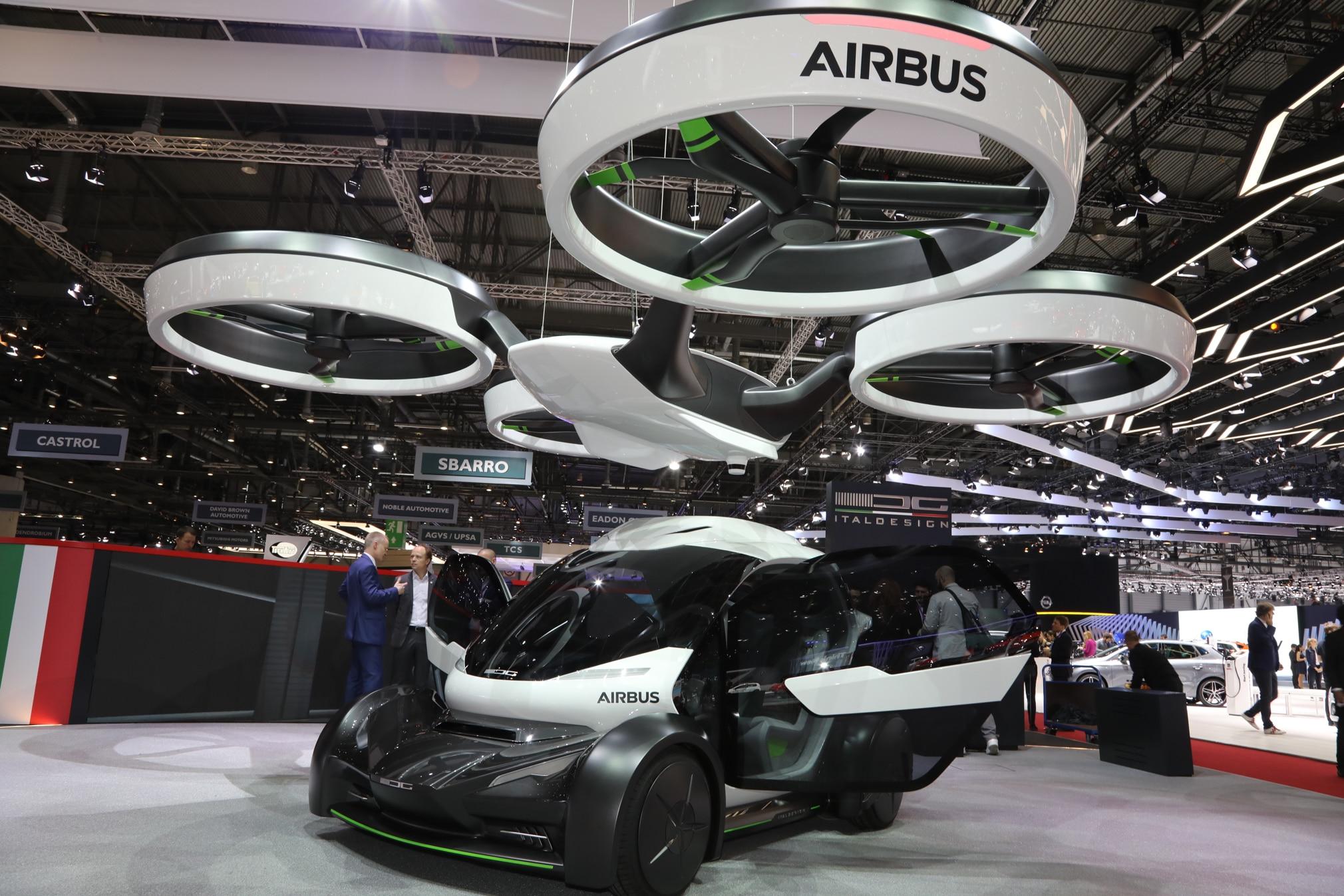 We Hear Italdesign Airbus Bringing Traffic Beating Car