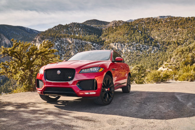 Jaguar F Pace 2017 All Stars Contender Front 01