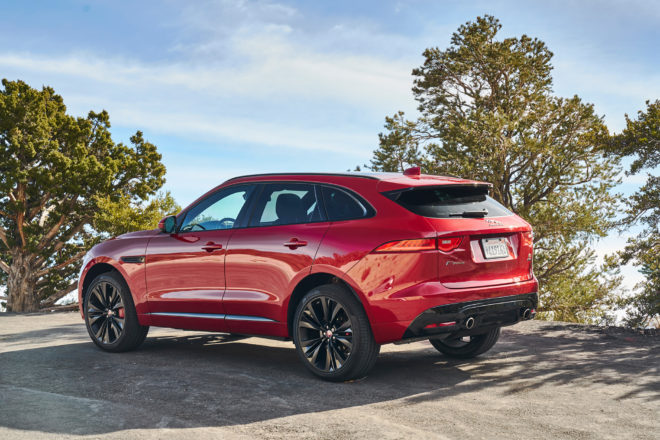 Jaguar F Pace 2017 All Stars Contender Rear Three Quarter 01