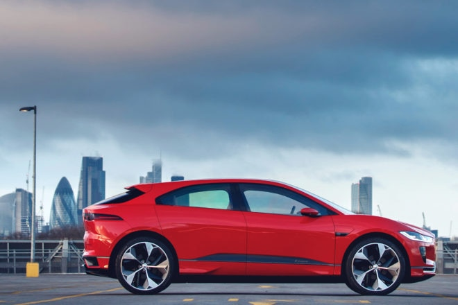 Jaguar I Pace Concept Side