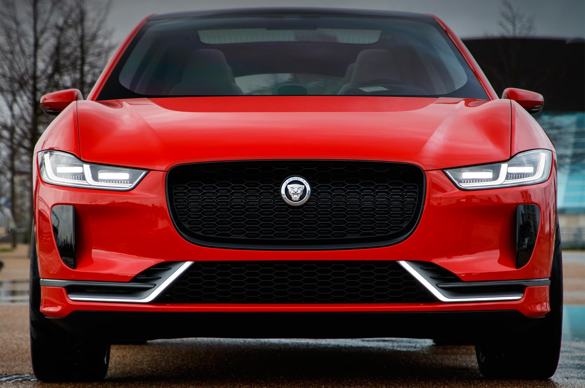 Jaguar I Pace Concept Front End
