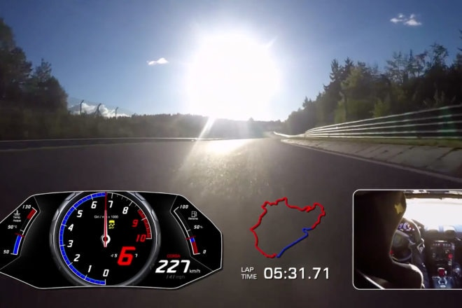 Lamborghini scorches Nurburgring lap record in Huracan Performante