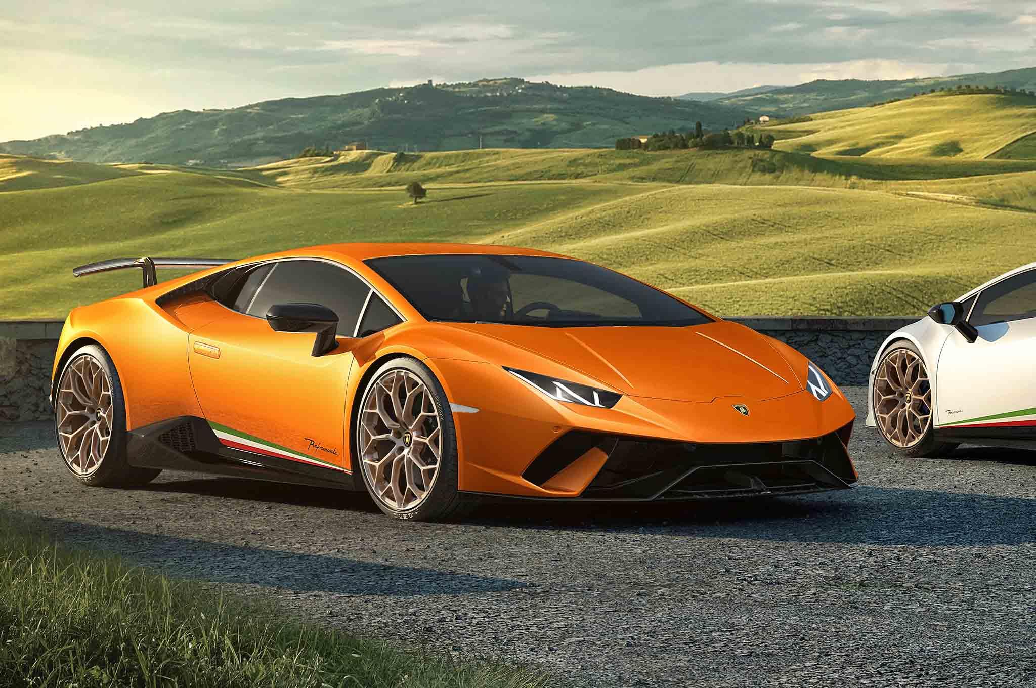Lamborghini Unveils 'Ring Master Huracan Performante