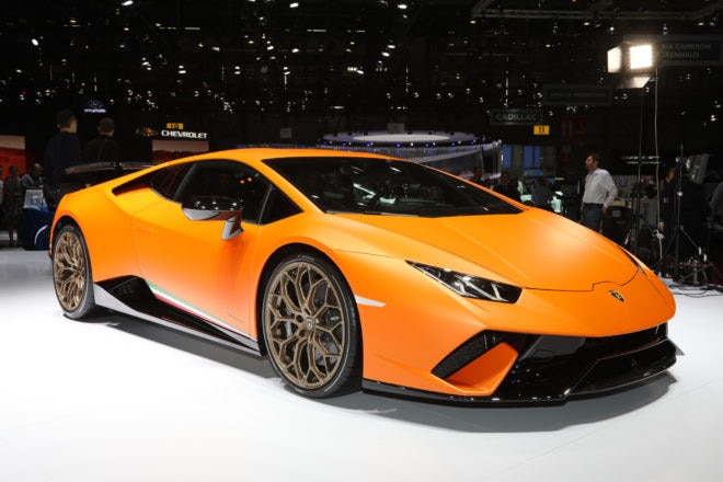 Lamborghini Huracan Performante Front Three Quarter 660x440