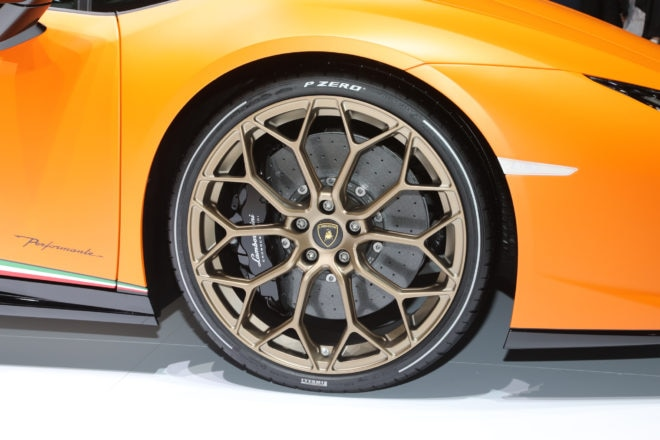 Lamborghini Huracan Performante wheels