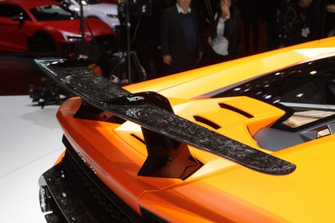 Lamborghini Huracan Performante wing