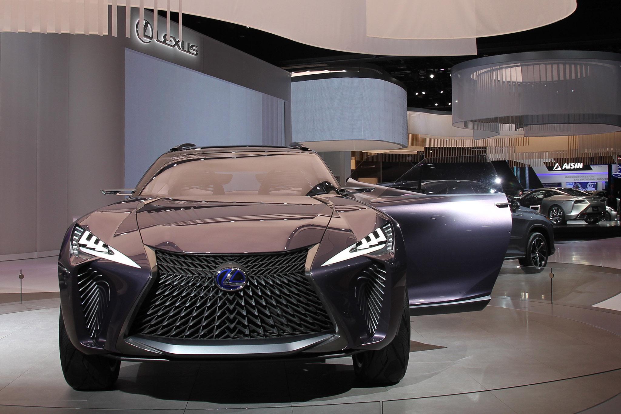 Lexus UX Concept Detroit Auto Show Front