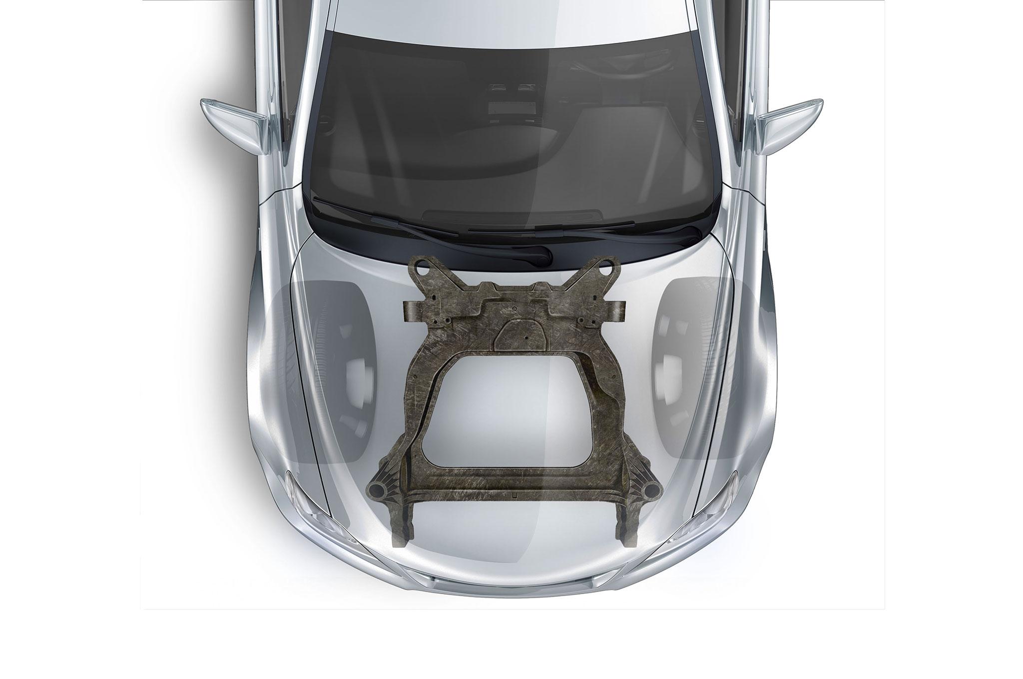 Magna Ford Carbon Fiber Subframe