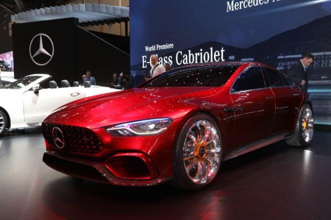 Mercedes AMG GT Concept front three quarter 02