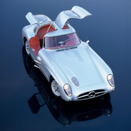 Mercedes Benz 300 SLR Coupe Uhlenhaut Coupe 1955 1