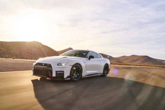 Nissan GT R Nismo 2017 All Stars Contender Front Three Quarter In Motion 03 660x440