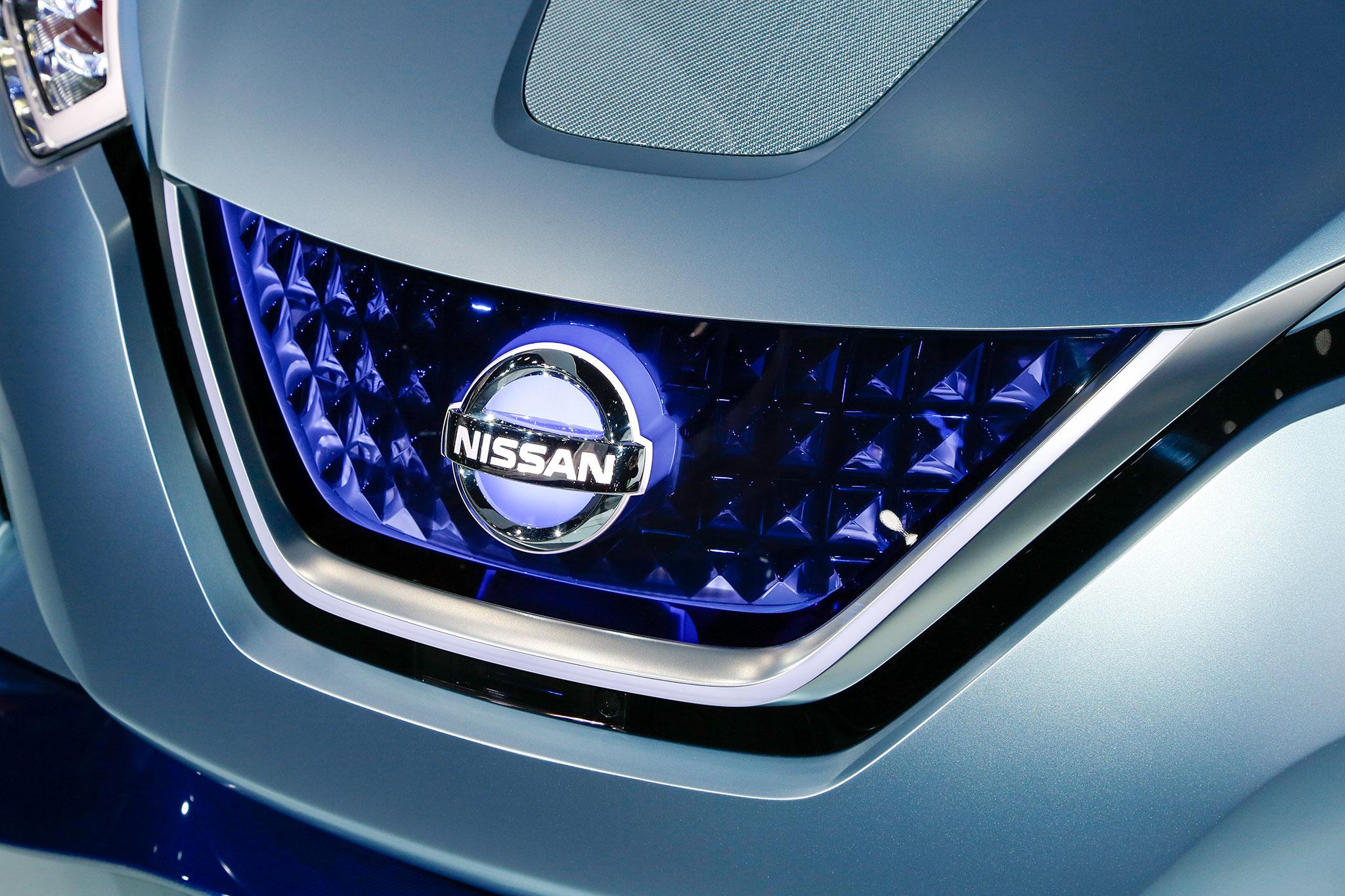 Nissan IDS Concept Grille