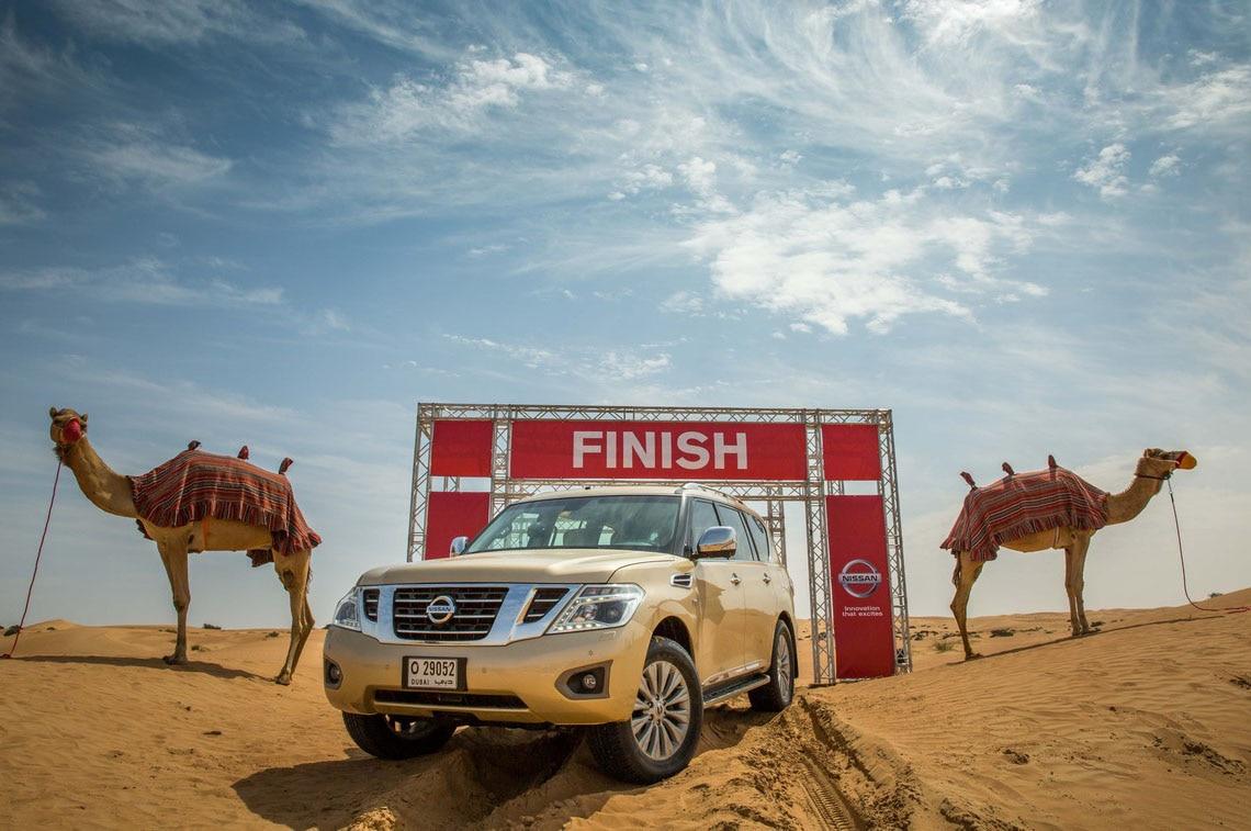 Nissan Patrol Camel Power Testing