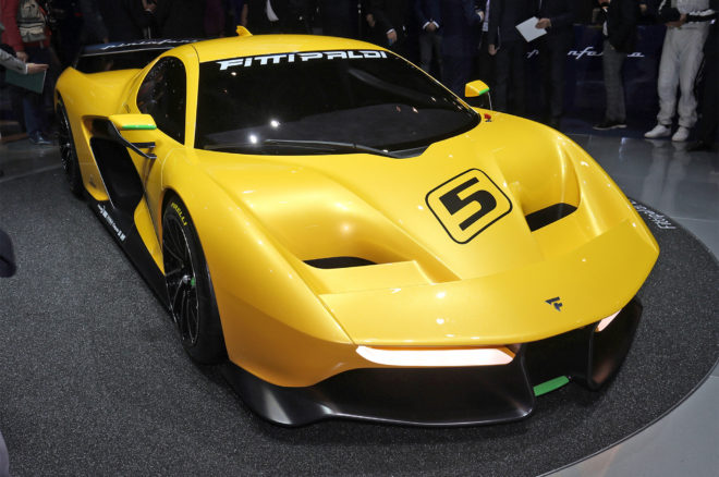 Pininfarina Fittipaldi EP7 Vision Gran Turismo Front Three Quarter 660x438