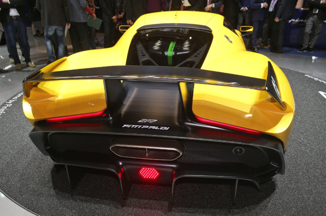 Pininfarina Fittipaldi EP7 Vision Gran Turismo rear end