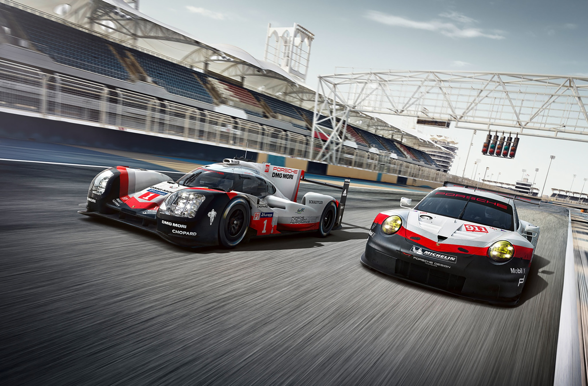 Porsche And Toyota Debut LMP1 Race Cars Ahead Of